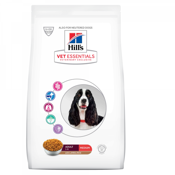 Hill's Vet Essentials Canine Adult Medium Lamb&Rice 10 kg