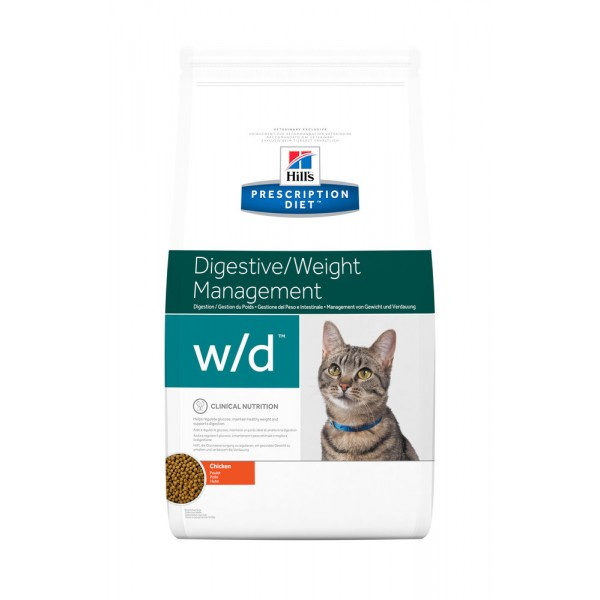 Hill's Prescription Diet Feline w/d 1,5 kg