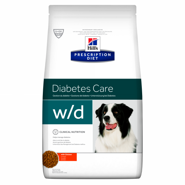 Hill's Prescription Diet Canine w/d 1,5 kg