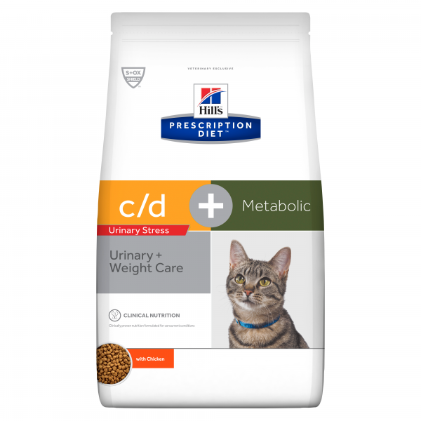 Hill's Prescription Diet Feline c/d urinary Stress + Metabolic 4 kg