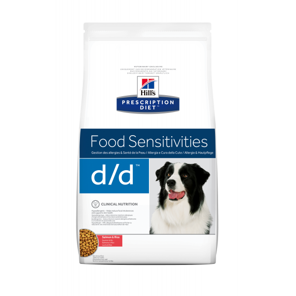 Hill's Prescription Diet Canine d/d Salmon 5 kg
