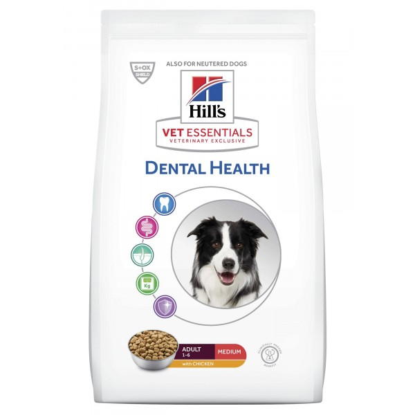 Hill's Vet Essentials Canine Adult Dental Health Medium 2 kg