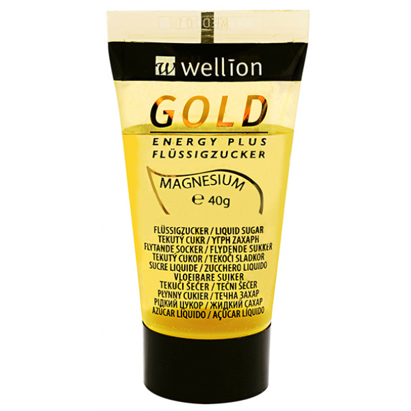 Wellion Gold Energy Plus nestemäinen sokeri 40 g