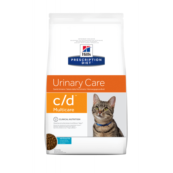 Hill's Prescription Diet Feline c/d Ocean Fish 5 kg