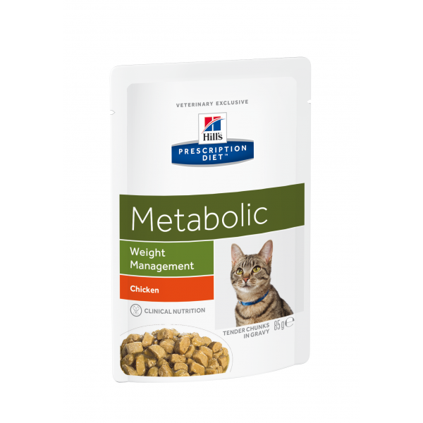 Hill's Prescription Diet Feline Metabolic annospussit 12x85 g