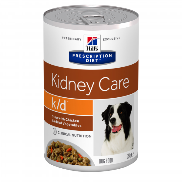 Hill's Prescription Diet Canine k/d muhennos 12x354 g