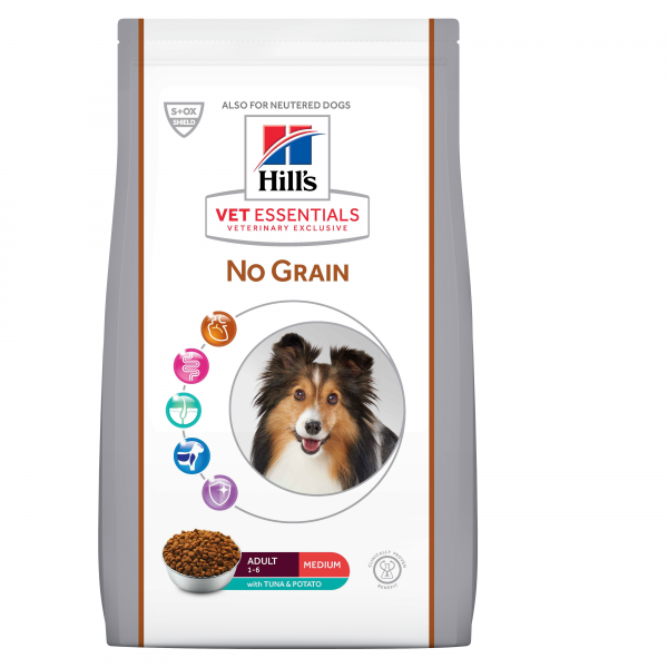 Hill's Vet Essentials Canine Adult Medium No Grain 10 kg