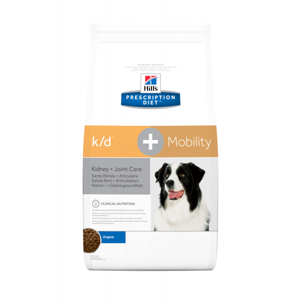 Hill's Prescription Diet Canine k/d+Mobility 12 kg