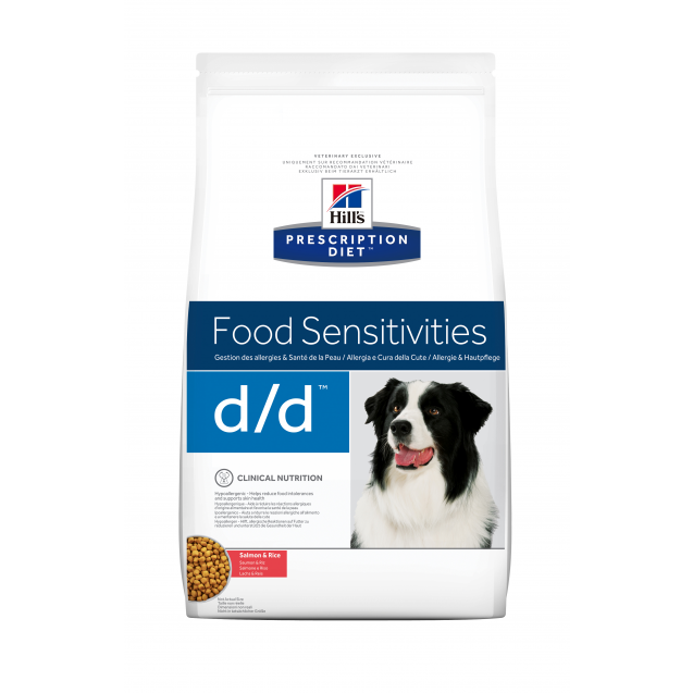 Hill's Prescription Diet Canine d/d Salmon 12 kg