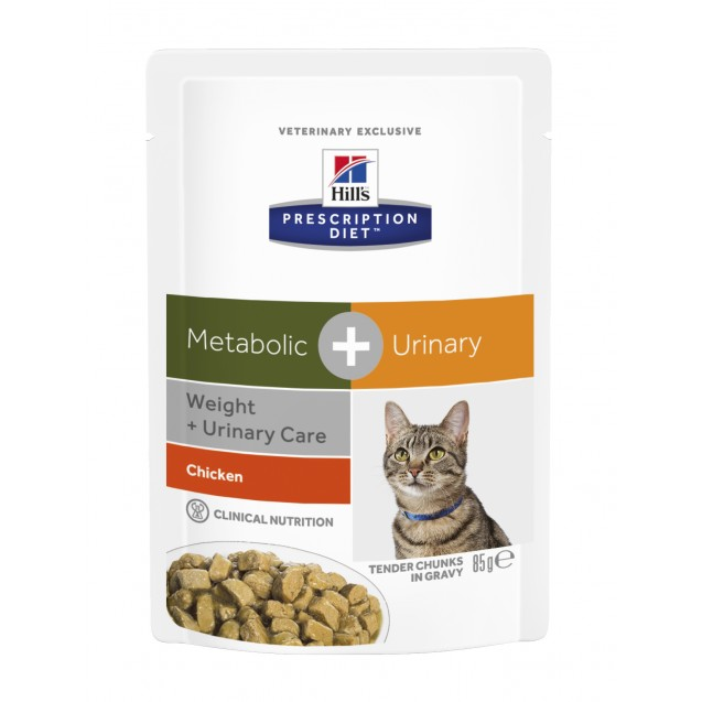 Hill's™ Prescription Diet™ Feline Metabolic+Urinary annospussit 12x85 g