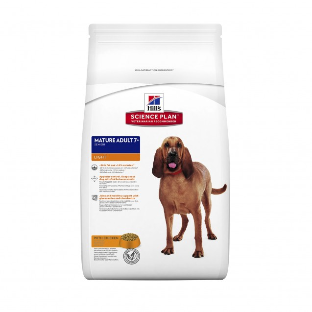 Hill's™ Science Plan™ Canine Mature Adult 7+ Chicken Light 3 kg