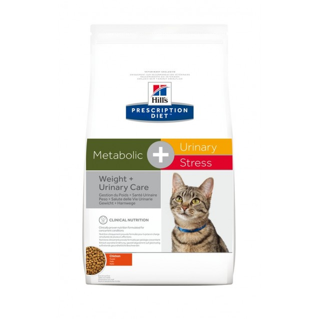 Hill's™ Prescription Diet™ Feline Metabolic+Urinary Stress 4 kg