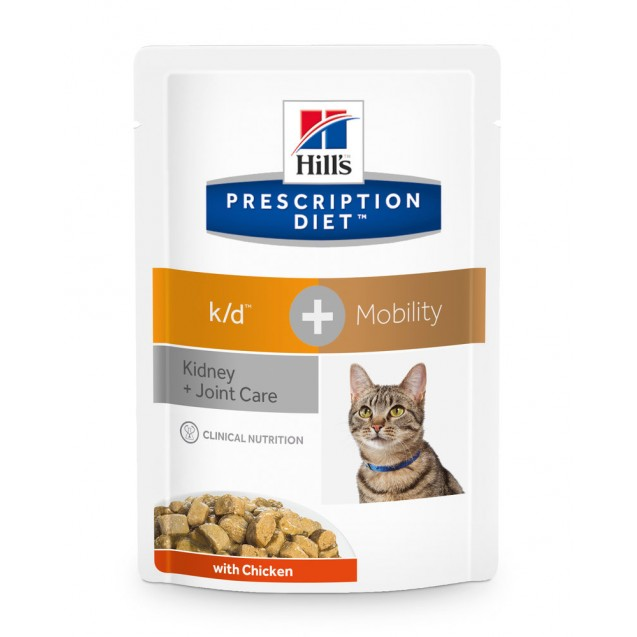 Hill's Prescription Diet Feline k/d + Mobility annospussit 12x85 g