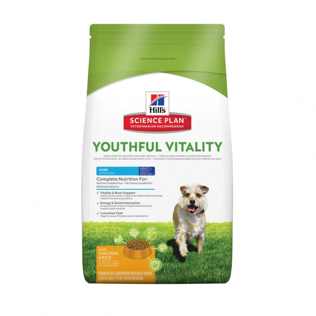 Hill's™ Science Plan™ Canine Youthful Vitality 7+ Mini 2,5 kg