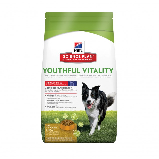 Hill's™ Science Plan™ Canine Youthful Vitality 7+ Medium 10 kg