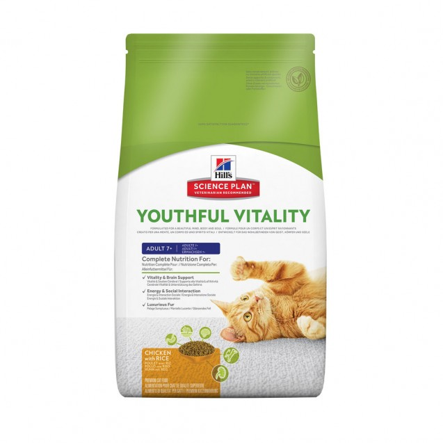 Hill's™ Science Plan™ Feline Mature Adult Youthful Vitality 7+ 1,5 kg