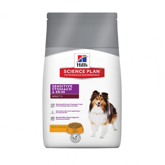 Hill's Science Plan Canine Sensitive Stomach and Skin 12 kg