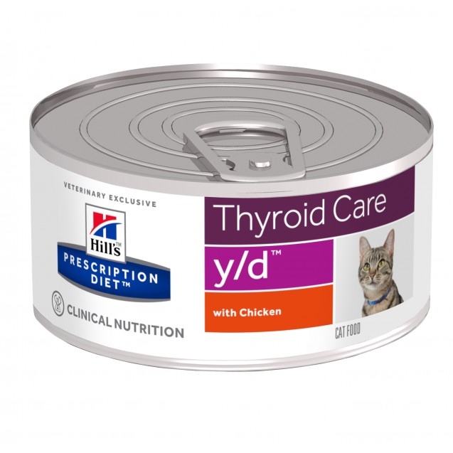 Hill's™ Prescription Diet™ Feline y/d säilyke 24x156 g