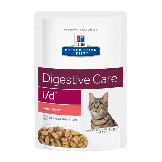 Hill's™ Prescription Diet™ Feline i/d Salmon annospussit 12x85 g