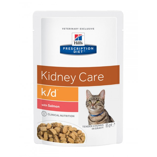 Hill's Prescription Diet Feline k/d Salmon annospussit 12x85 g