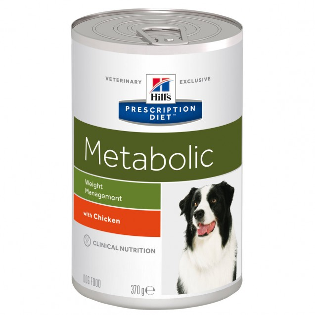 Hill's™ Prescription Diet™ Canine Metabolic säilyke 12x370 g