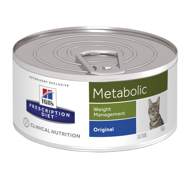Hill's™ Prescription Diet™ Feline Metabolic säilyke 24x156 g
