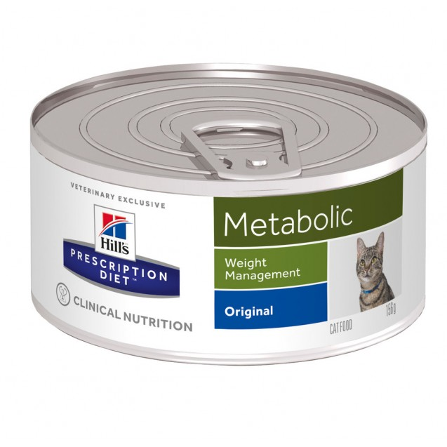 Hill's Prescription Diet Feline Metabolic säilyke 24x156 g