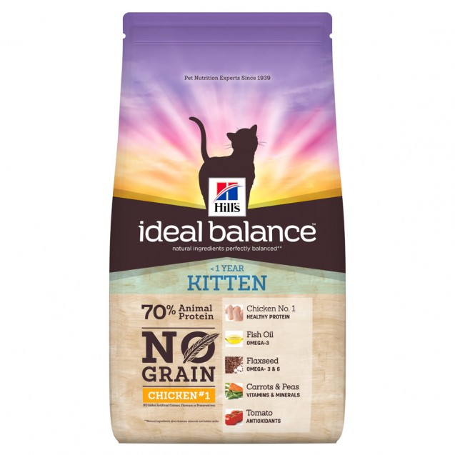 Hill's™ Ideal Balance™ Feline Kitten No Grain Chicken & Potato 1,5 kg
