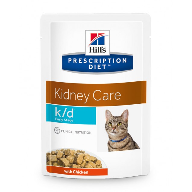 Hill's Prescription Diet Feline k/d Early Stage annospussit 12x85 g