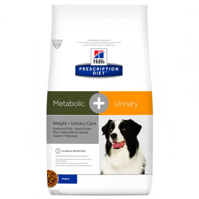 Hill's™ Prescription Diet™ Canine Metabolic+Urinary 12kg
