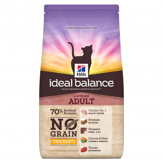 Hill's™ Ideal Balance™ Feline Adult No Grain Chicken&Potato 1,5 kg