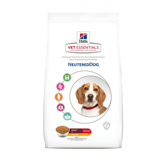 Hill's™ Vet Essentials™ Neutered Dog Medium 10 kg
