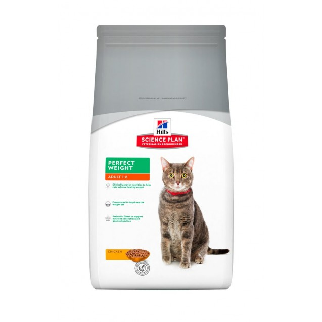 Hill's™ Science Plan™ Feline Adult Perfect Weight 8 kg