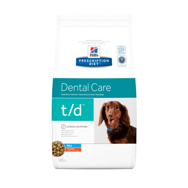 Hill's Prescription Diet Canine t/d Mini 3 kg