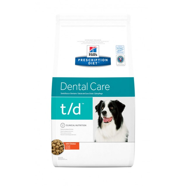 Hill's Prescription Diet Canine t/d 3 kg