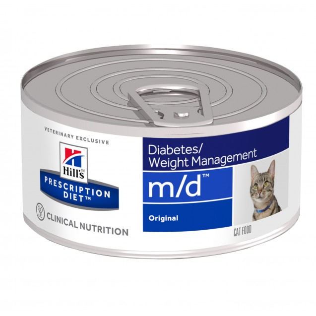 Hill's™ Prescription Diet™ Feline m/d säilyke 24x156 g