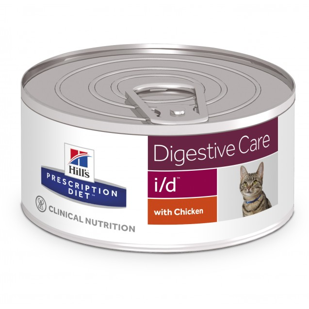 Hill's™ Prescription Diet™ Feline i/d säilyke 24x156 g