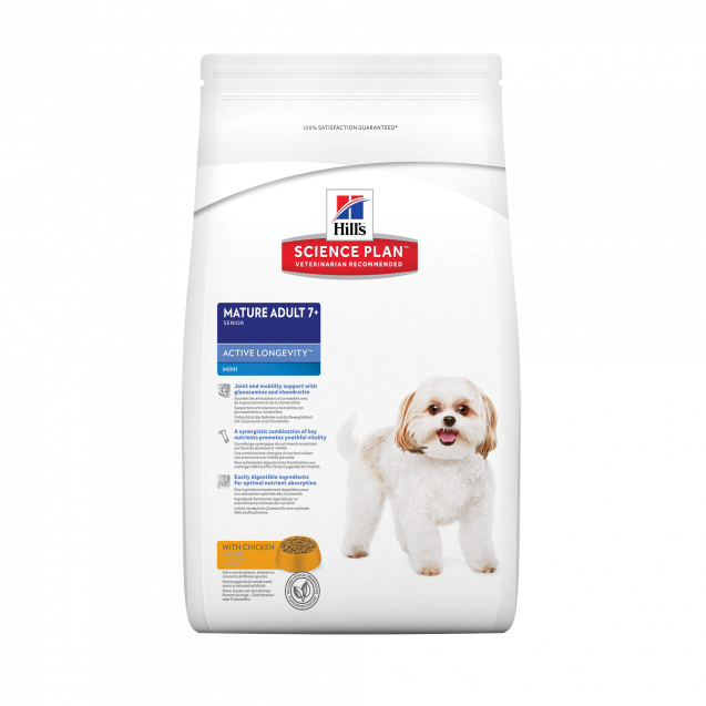 Hill's™ Science Plan™ Canine Mature Adult 7+ Mini Chicken 7,5 kg