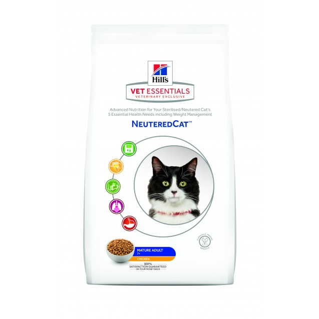Hill's™ Vet Essentials™ Neutered Cat Mature Adult 7+ 1,5 kg