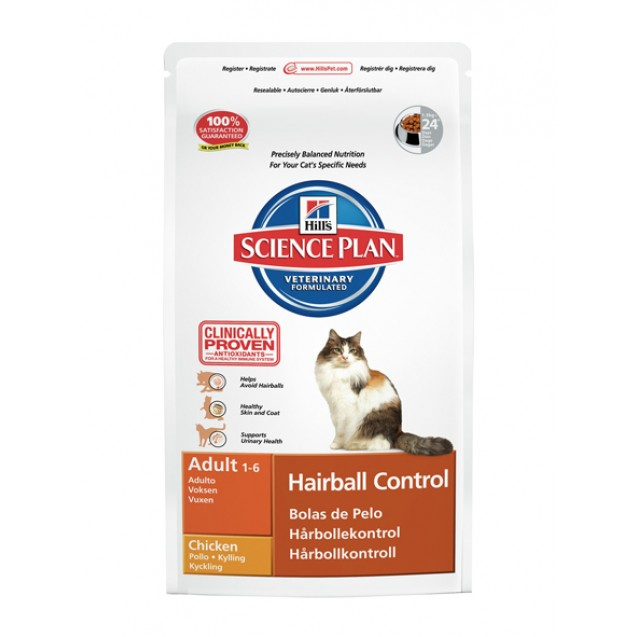 Hill's™ Science Plan™ Feline Hairball Adult 1,5 kg