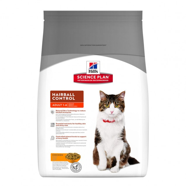 Hill's™ Science Plan™ Feline Adult Hairball Control 1,5 kg