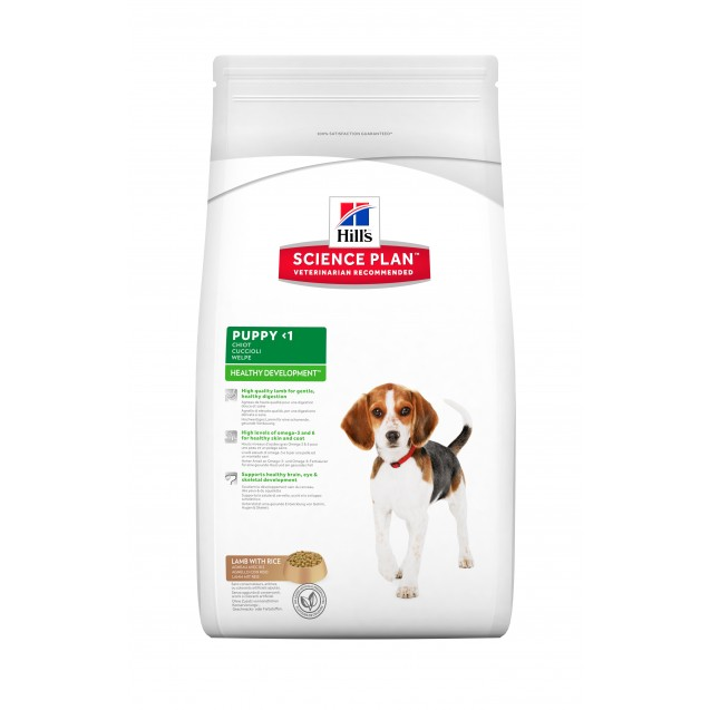 Hill's™ Science Plan™ Canine Puppy Lamb&Rice 3 kg