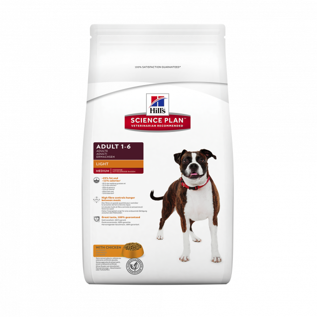 Hill's™ Science Plan™ Canine Adult Chicken Light 3 kg