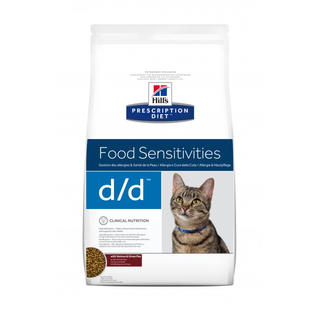 Hill's™ Prescription Diet™ Feline d/d Venison&Green Pea 1,5 kg
