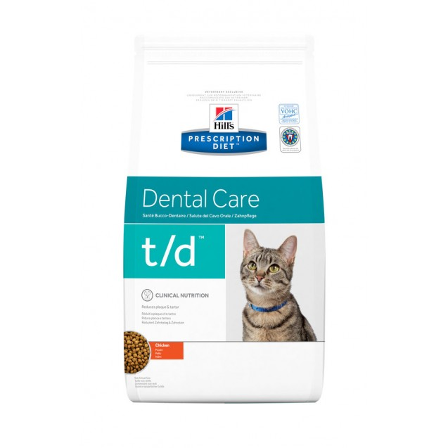 Hill's Prescription Diet Feline t/d 1,5 kg
