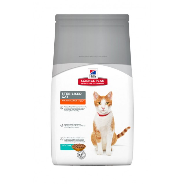 Hill's™ Science Plan™ Feline Sterilied Cat Young Adult Tuna 3,5 kg