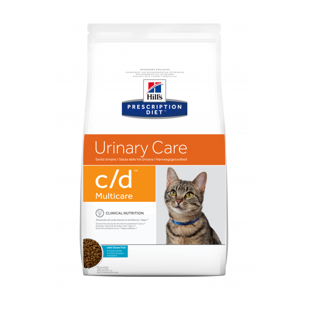 Hill's Prescription Diet Feline c/d Ocean Fish 1,5 kg