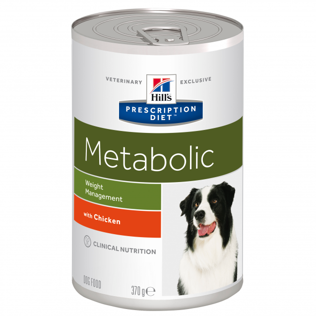 Hill's Prescription Diet Canine Metabolic säilyke 12x370 g