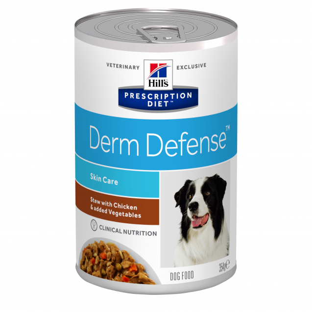 Hill's Prescription Diet Canine Derm Defense muhennos 12x354 g