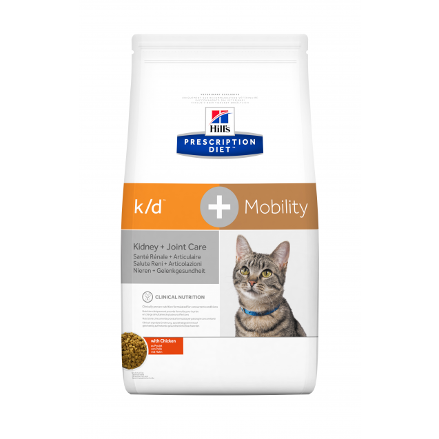 Hill's Prescription Diet Feline k/d + Mobility 2 kg